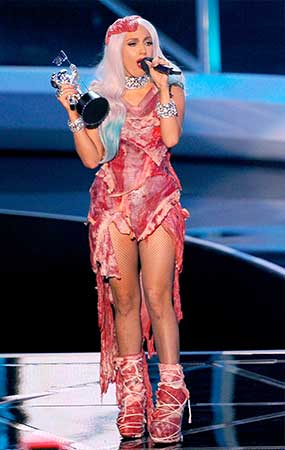 gaga-meatdress