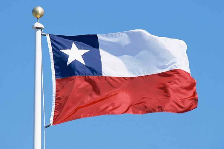 Chile Flagga