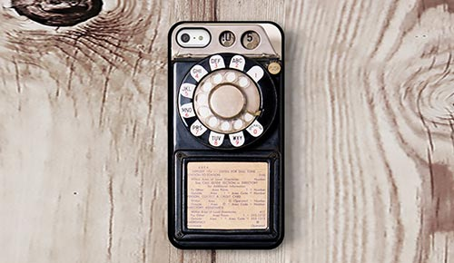 Iphone-snurrtelefon